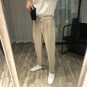 Drawstring Casual Jogger Pants