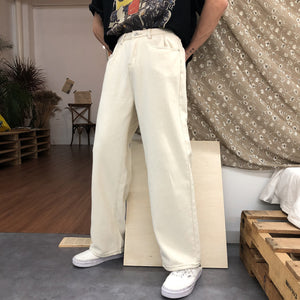 Loose Straight Retro Pants
