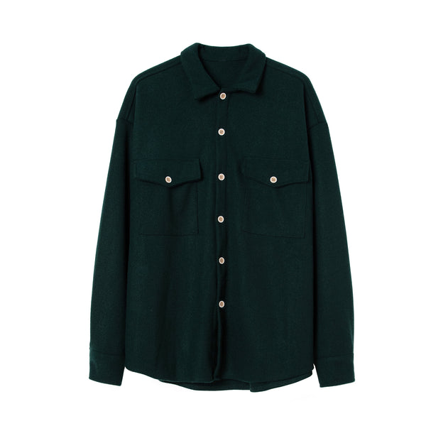 Cotton Knitwear Jacket