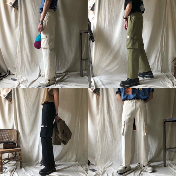 Overall Pocket Pants