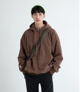 Oversized Sweat Long Sleeve Pullover Hoodie