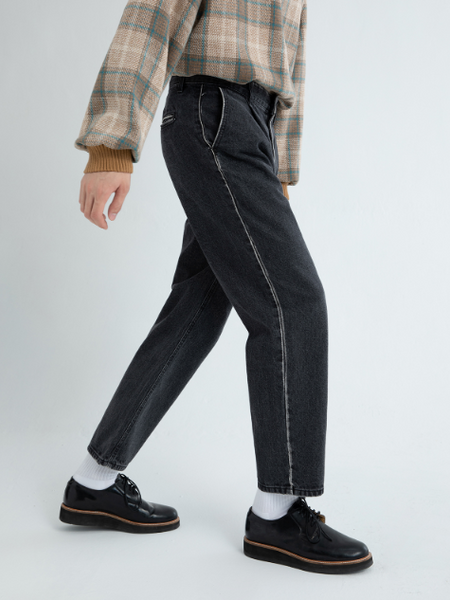 Faded Wash Accent Pants