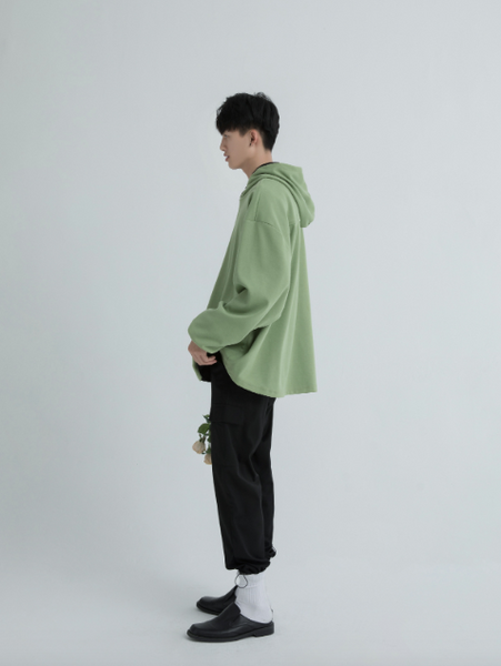 Green Oversized Sweater