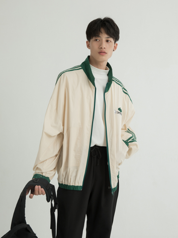 Embroidered Sports Jacket