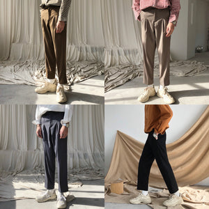 Basic Pleat Trousers