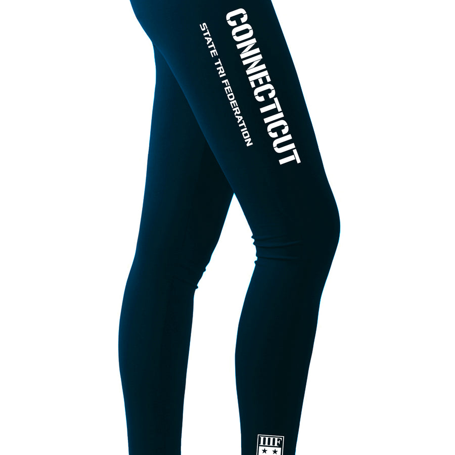 STATE FED LEGGINGS - CONNECTICUT - NAVY