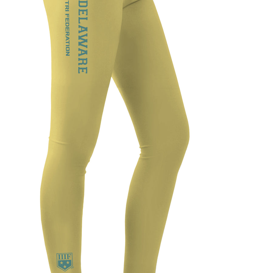 STATE FED LEGGINGS - DELAWARE - CORNSILK