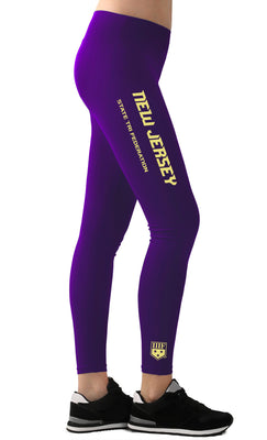 STATE FED LEGGINGS - NEW JERSEY - PURPLE