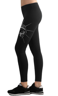 STATE FED LEGGINGS - NEW YORK - BLACK