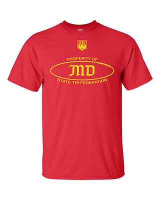 PROPERTY OF -  TRIBALL - T-SHIRT - MARYLAND