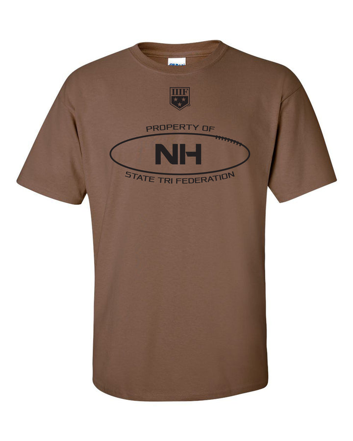 PROPERTY OF -  TRIBALL - T-SHIRT - NEW HAMPSHIRE