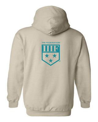 State TRIball Hoodie - DE - SAND