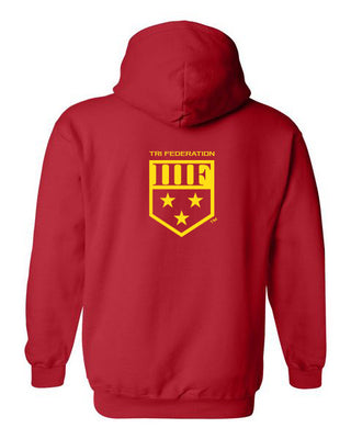 State TRIball Hoodie - MD - RED
