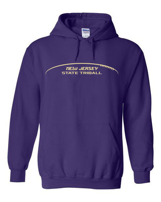 State TRIball Hoodie - NJ - PURPLE
