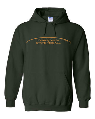 State TRIball Hoodie - PA - FOREST