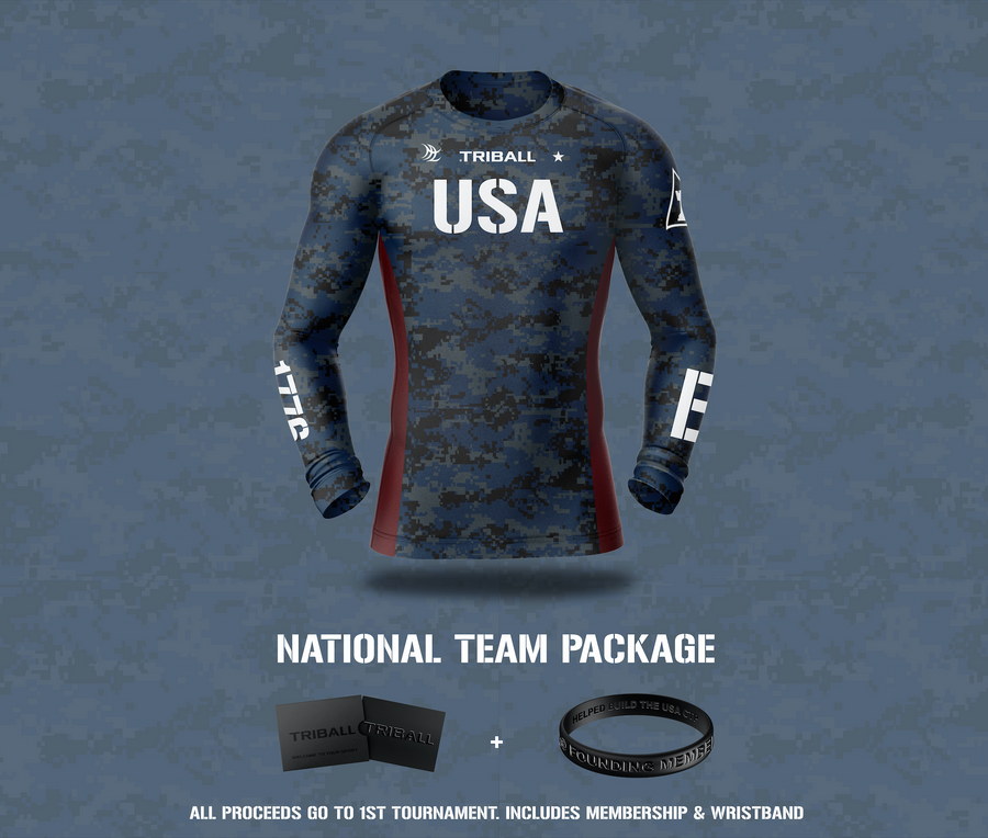 Crowdfund Legend Package: 11 Items + TRIBALL® USA Jersey Men's