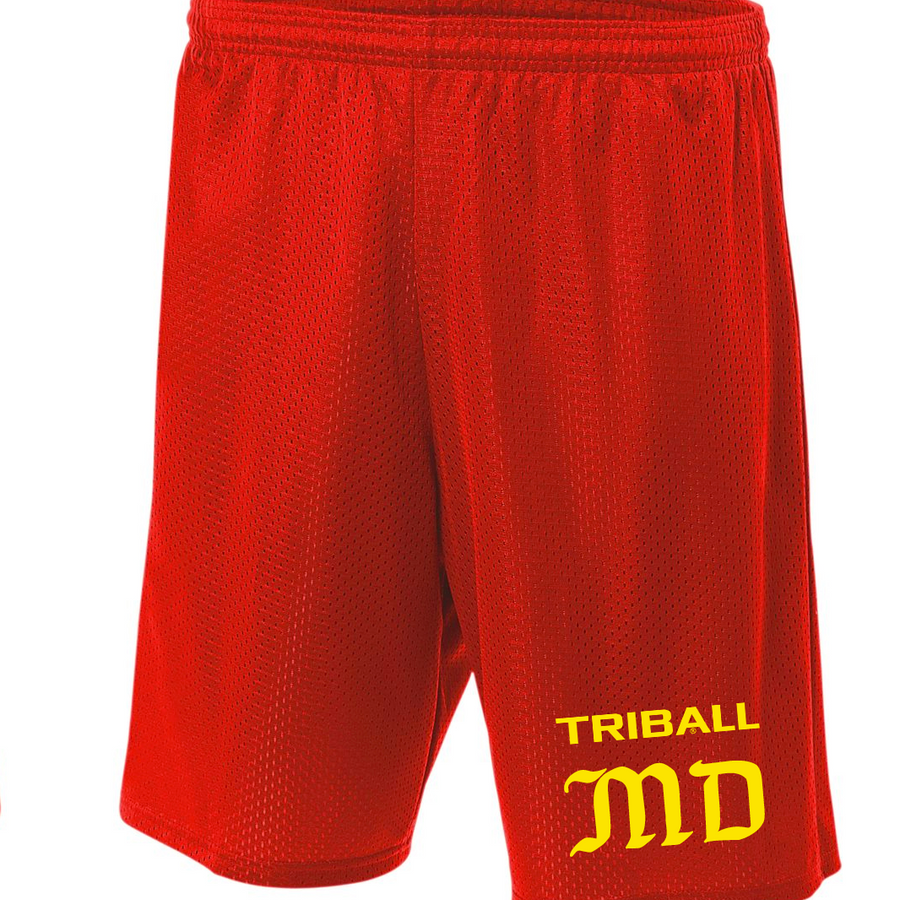 STATE TRIBALL® LITE SHORTS - MD - RED