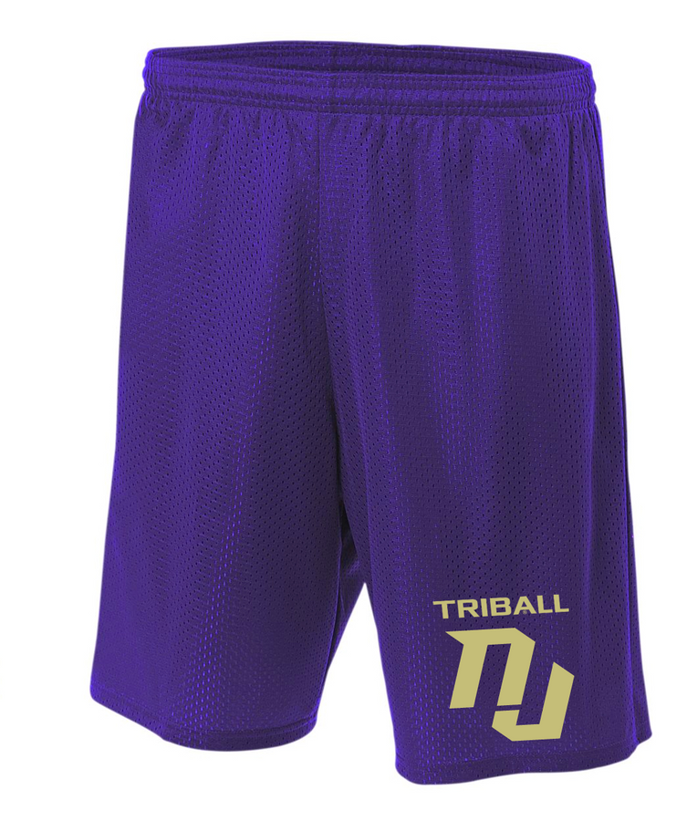 STATE TRIBALL® LITE SHORTS - NJ - PURPLE
