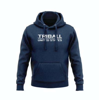 National TRIBALL® Hoodie - USA - NAVY