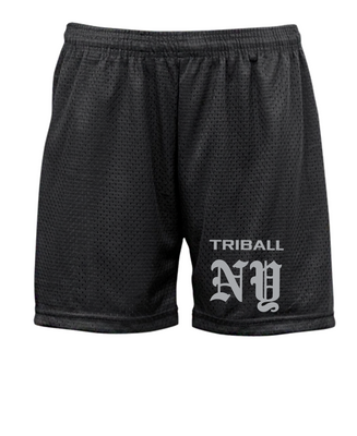 "STATE TRIBALL® ""5 LITE SHORTS - NY - BLACK"