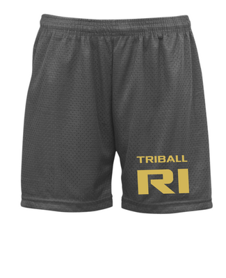 "STATE TRIBALL® ""5 LITE SHORTS - RI - CHARCOAL"