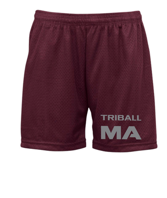 "STATE TRIBALL® ""5 LITE SHORTS - MA - MAROON"