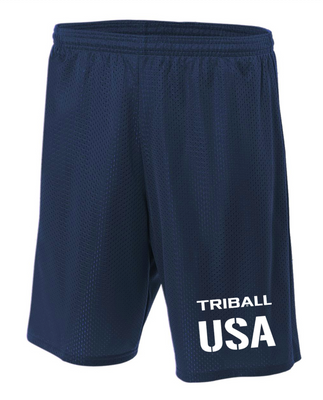 NATIONAL TRIBALL® LITE SHORTS - USA - NAVY