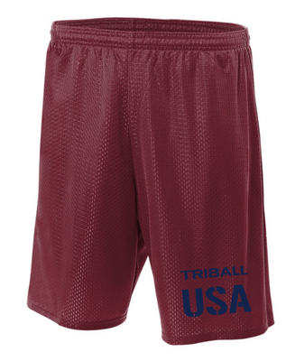 NATIONAL TRIBALL® LITE SHORTS - USA - CARDINAL