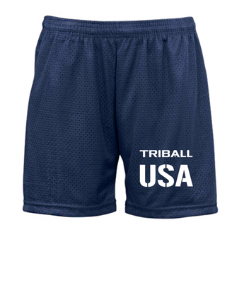 "NATIONAL TRIBALL® ""5 LITE SHORTS - USA - NAVY"