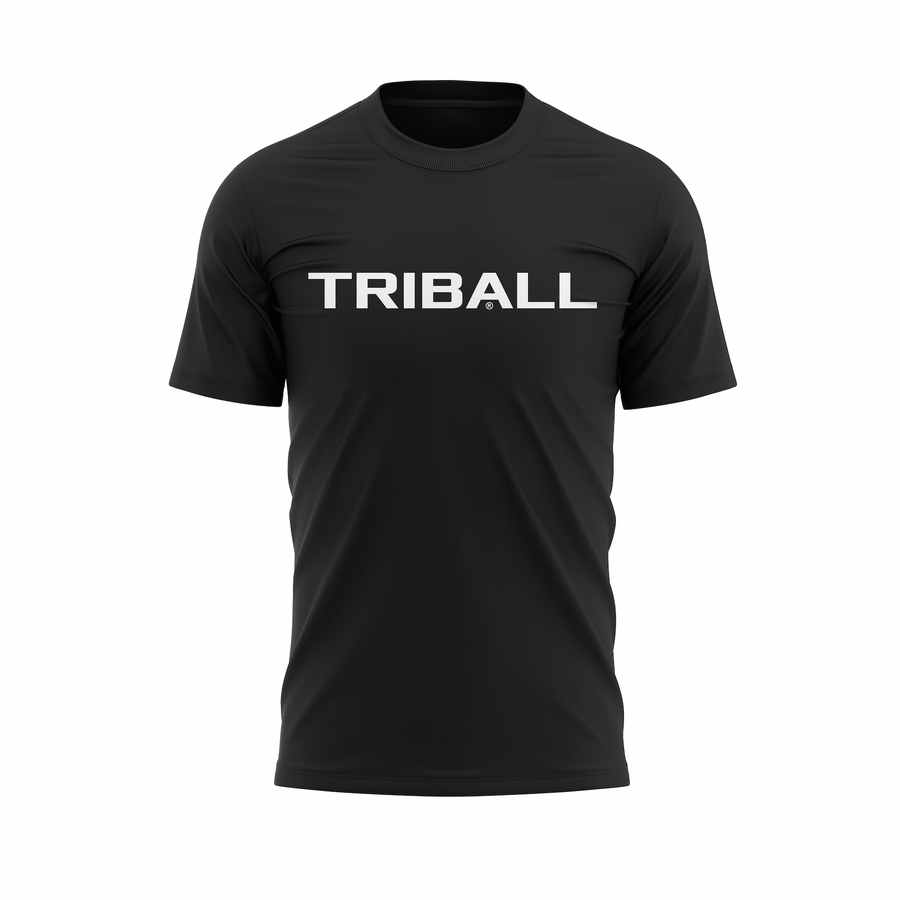 TRIBALL NEW GEN LOGO - TSHIRT - BLACK