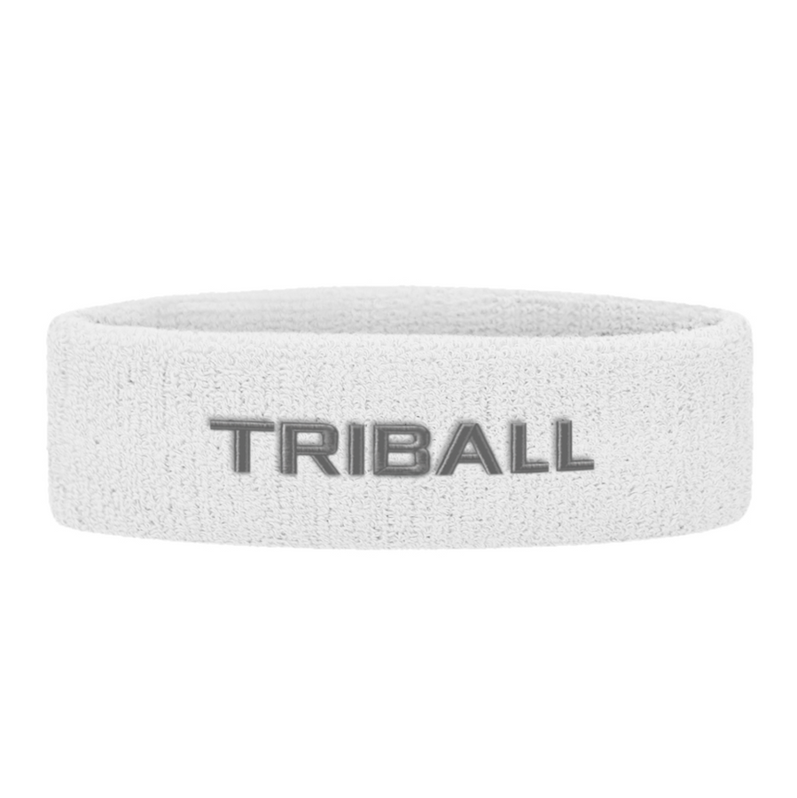 TRIBALL Headband - White