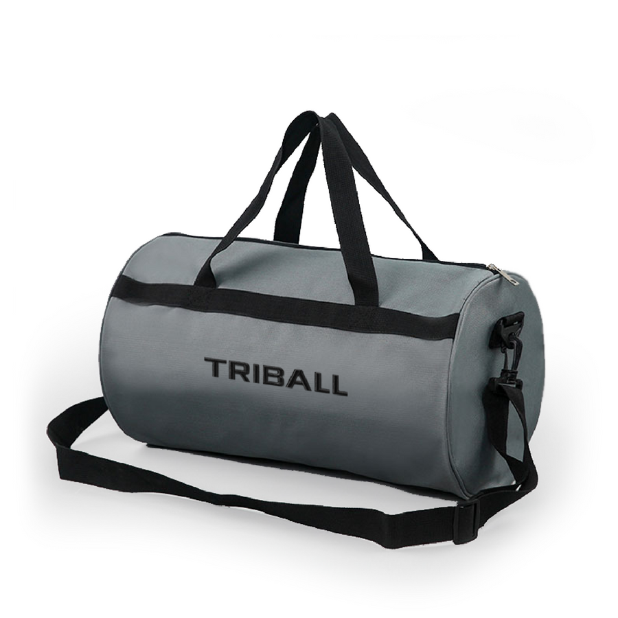 TRIBALL Oxford Gym Bag - Grey