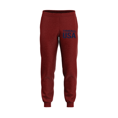 National ABR TRIBALL® Sweatpants - USA - Garnet