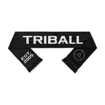 TRIBALL® Brand Scarf - Black