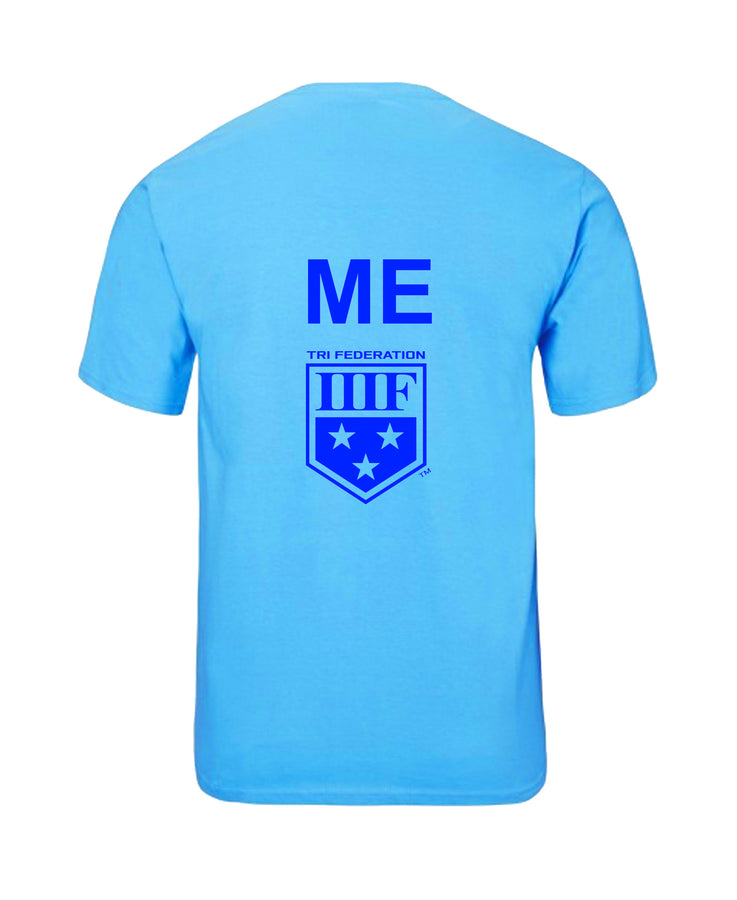 VERTICAL STATE - T-SHIRT - MAINE - SAPPHIRE