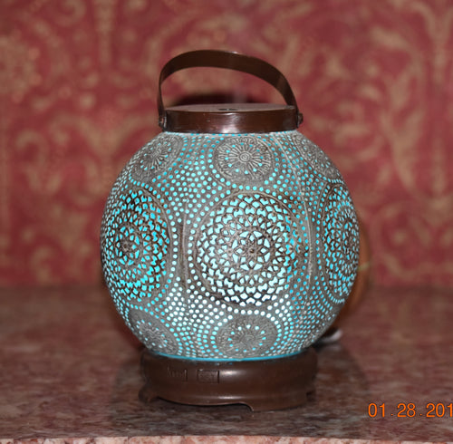 Decorative Lantern Essential Oil Aromatherapy Diffuser - Smoky Mountain Fresh Roast Coffee