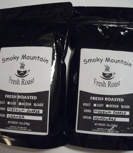 Decaf Coffee - Smoky Mountain Fresh Roast Coffee