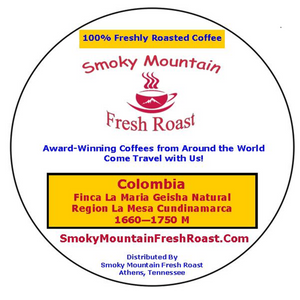 Customer Appreciation Free Sample Packet - Smoky Mountain Fresh Roast Coffee