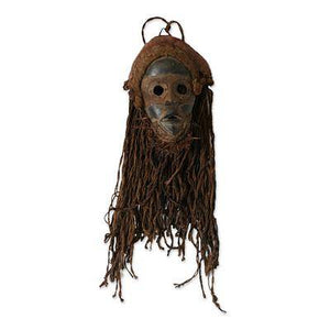 Strong Protector African Handmade Jute Mask - Smoky Mountain Fresh Roast Coffee