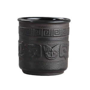 Caneca Criativa Handmade Japanese Cast Iron Tea Cup - Smoky Mountain Fresh Roast Coffee
