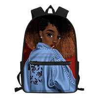 Melanin beauty Backpack/Bookbag