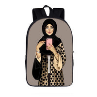 Hijabi Backpack, Muslim backpack