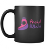 Proud Hijabi 11oz Black Mug
