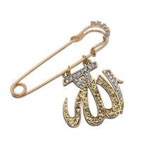 Hijab Pin With Allah