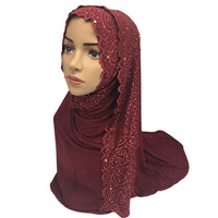 Lace Decorated Hijab