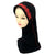 Girls Hijab With Brim