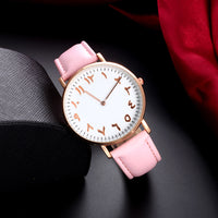 Muslima Leather Arabic Watch