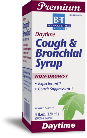 Boericke & Tafel Liquid Daytime Cough Bronchial Syrup - 8 oz.