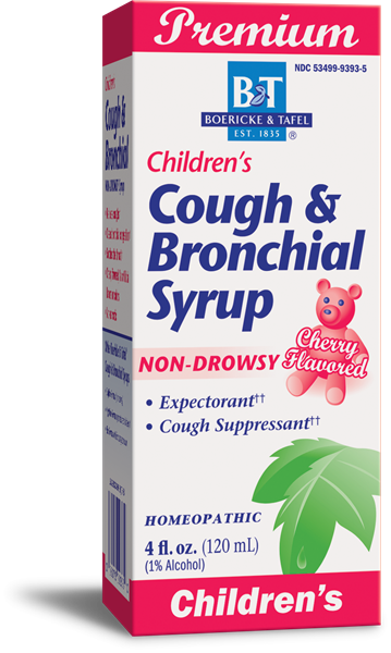 Boericke & Tafel Children's Cough & Bronchial Syrup - 4 oz.