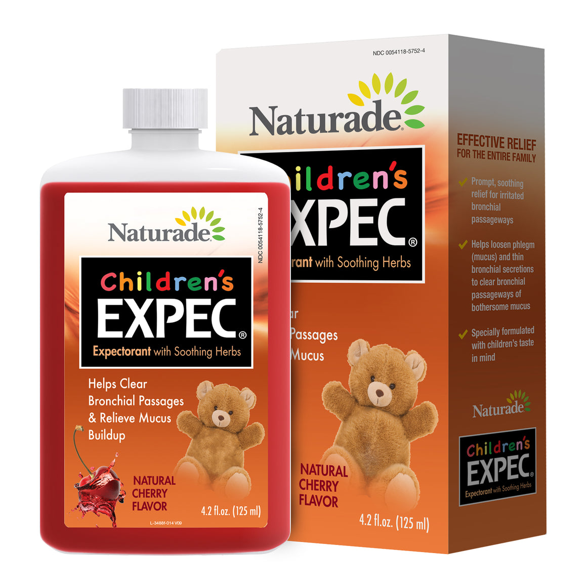 Naturade Children's Expectorant (EXPEC) Alcohol-Free – 4.2 fl oz